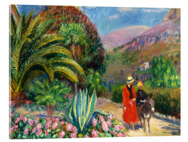 Acrylglasbild  Nachmittag in der Provence. - William James Glackens