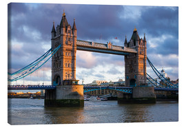 Leinwandbild  Tower Bridge in London - Walter Bibikow