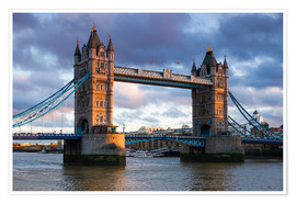 Premium-Poster Tower Bridge in London