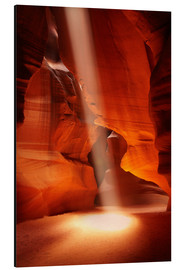 Alubild  Oberer Antelope Canyon - David Wall
