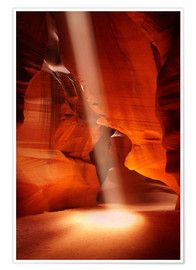 Poster Upper Antelope Canyon