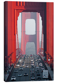 Leinwandbild  Golden Gate Bridge, San Francisco, USA - Peter Wey
