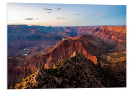 Forex  Panorama vom South Rim über den Grand Canyon bei Sonnenuntergang, USA. - Peter Wey