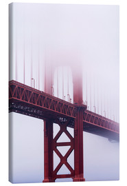 Leinwandbild  Golden Gate Bridge im Nebel - Jean Brooks