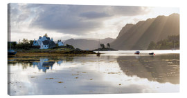 Leinwandbild  Loch Carron am Morgen - Lee Frost
