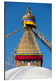 Alubild  Bodhnath Stupa (Boudhanth) (Boudha), one of the holiest Buddhist sites in Kathmandu, UNESCO World He - Lee Frost