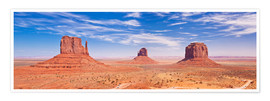 Premium-Poster Monument Valley Navajo