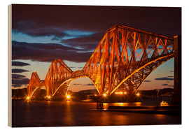 Holzbild  Forth Rail Bridge, South Queensferry - Neale Clarke