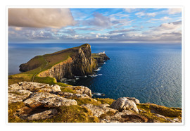 Premium-Poster Neist Point, Isle of Skye