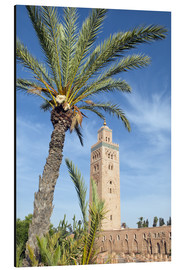 Alubild  Minaret of the Koutoubia Mosque, UNESCO World Heritage Site, Marrakech, Morocco, North Africa, Afric - Nico Tondini