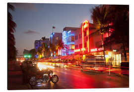 Alubild  Ocean Drive, South Beach, Art Deco district, Miami Beach, Miami, Florida, United States of America, - Angelo Cavalli