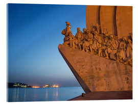 Acrylglasbild  Monument to Discoveries, Belem, Lisbon, Portugal, Europe - Angelo Cavalli