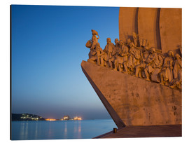 Alubild  Monument to Discoveries, Belem, Lisbon, Portugal, Europe - Angelo Cavalli