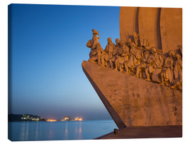 Leinwandbild  Monument to Discoveries, Belem, Lisbon, Portugal, Europe - Angelo Cavalli