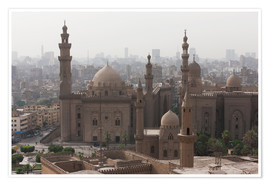 Premium-Poster Mosque of Sultan Hassan in Cairo old town, Cairo, Egypt, North Africa, Africa