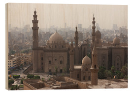 Holzbild  Mosque of Sultan Hassan in Cairo old town, Cairo, Egypt, North Africa, Africa - Martin Child