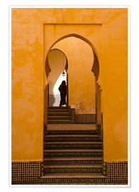 Premium-Poster  Mausoleum of Moulay Ismail, Meknes, Morocco - Marco Cristofori