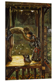 Hartschaumbild  Die Barmherzigen Ritter - Edward Burne-Jones