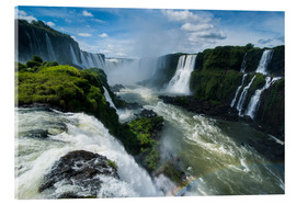 Acrylglasbild  Foz de Iguazu (Iguacu Falls), the largest waterfalls in the world, Iguacu National Park, UNESCO Worl - Michael Runkel