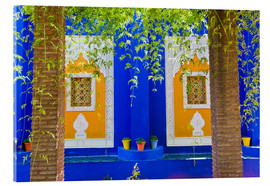 Acrylglas  Fenster in den Majorelle Gardens - Matthew Williams-Ellis