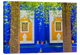 Leinwandbild  Fenster in den Majorelle Gardens - Matthew Williams-Ellis