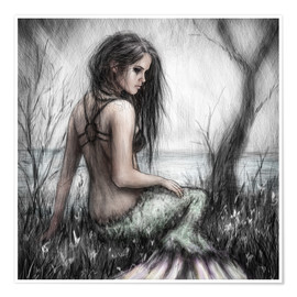 Poster  Mermaid 's Rest - Justin Gedak
