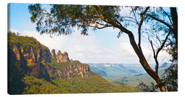 Leinwandbild  The Three Sisters in Australien - Matthew Williams-Ellis