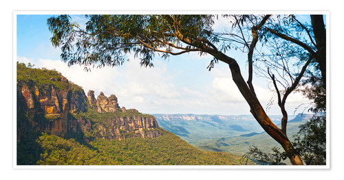 Premium-Poster The Three Sisters in Australien