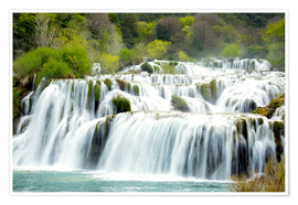 Poster  Nationalpark Krka - Alex Robinson