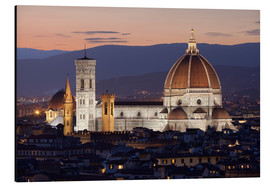 Alubild  Duomo at night from Piazza Michelangelo, Florence, UNESCO World Heritage Site, Tuscany, Italy, Europ - Stuart Black