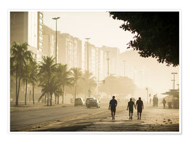 Copacabana am Morgen
