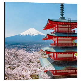 Alubild  Chureito Pagoda in Yamanashi Japan - Jan Christopher Becke