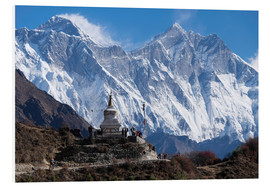 Forex  Tenzing Norgye Stupa & Mount Everest - John Woodworth