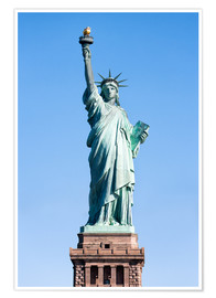 Premium-Poster  Freiheitsstatue in New York USA - Jan Christopher Becke