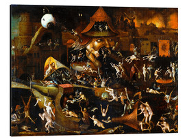Alubild  The harrowing of hell - Hieronymus Bosch