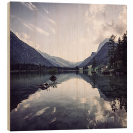 Holzbild  Hintersee in Ramsau - Oliver Henze