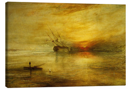 Leinwandbild  Fort Vimieux - Joseph Mallord William Turner