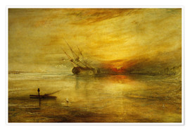 Premium-Poster  Fort Vimieux - Joseph Mallord William Turner