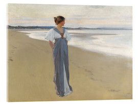 Acrylglasbild  Am Strand - William Henry Margetson
