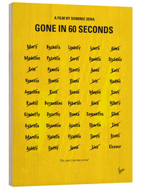 Holzbild  Gone In 60 Seconds - chungkong
