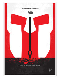 Poster No001 My 300 minimal movie poster