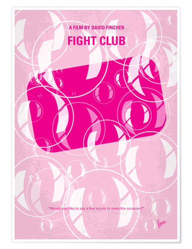 Premium-Poster Fight Club