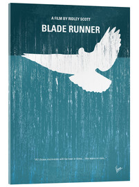 Acrylglas  No011 My Blade Runner minimal movie poster - chungkong