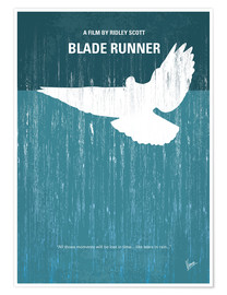 Premium-Poster  No011 My Blade Runner minimal movie poster - chungkong