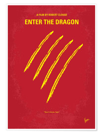 Premium-Poster  Enter The Dragon - chungkong