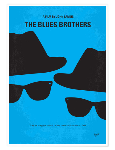 Premium-Poster The Blues Brothers