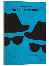 Holzbild  The Blues Brothers - chungkong