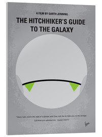Acrylglasbild  The Hitchhiker's Guide To The Galaxy - chungkong