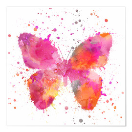 Premium-Poster Artsy Butterfly