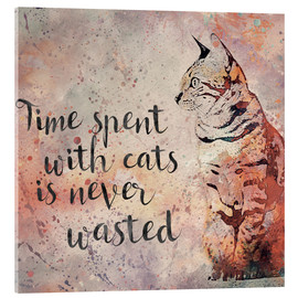 Acrylglas  Time with Cats - Andrea Haase